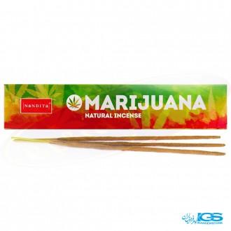 عود دست ساز ماریجوانا برند ناندیتا Nandita Marijuana