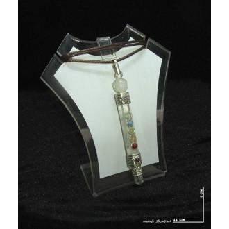 گردنبند کریستال کوارتز کد 10798