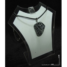 سنگ ابسیدیان (راف گردنبندی) ابسیدین