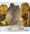 سنگ فلوریت زرد فلئوریت  کلکسیونی دکوریyellow fluorite