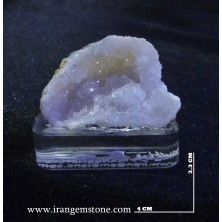 Quartz crystal rock