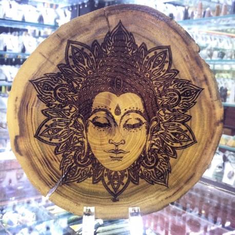 تابلو حکاکی شده سفارشی بر روی چوب
