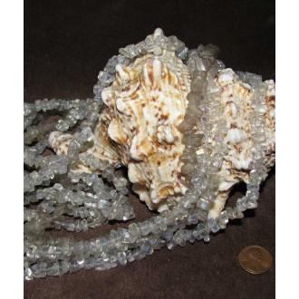 سنگ کریستال کوارتز(گردنبند راف)
