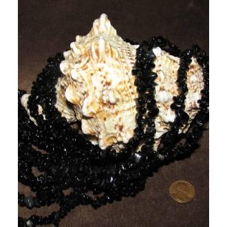 سنگ انیکس یا عقیق سیاه (گردنبند راف)