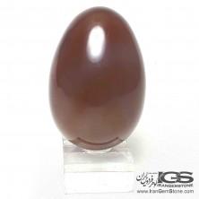 تخم مرغ سنگ عقیق سرخ