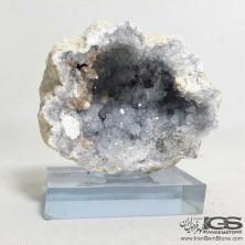 سنگ ژئود راف طبیعی سلستین آبی Celestine