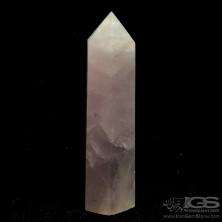 منشور سنگ رز کوارتز rose quartz