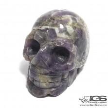 جمجمه سنگ راف آمیتیست برزیل Amethyst