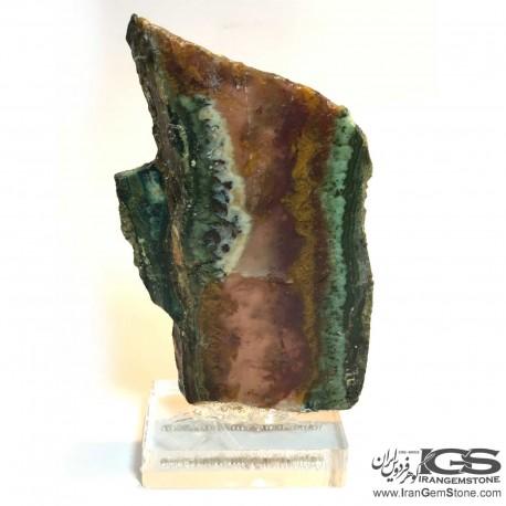سنگ راف عقیق شجر بهاری طبیعی Agate