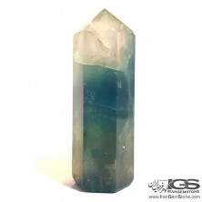 سنگ تراش منشور فلوریت سبز فلئوریت Fluorite
