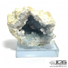 سنگ سلستین ژئود راف طبیعی سلستین آبی Celestine