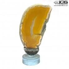 سنگ عقیق زرد Agate