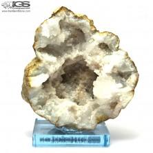 ژئود سنگ کریستال کوارتز Crystal Quartz درنجف یا درهند