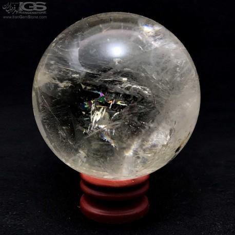 گوی سنگ کریستال کوارتز Crystal Quartz درنجف یا درهند