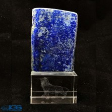 تندیس شیر با سنگ لاجورد افغانستان Lapis lazuli