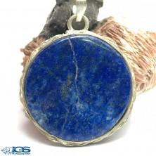 آویز ورشو سنگ لاجورد افغانستان Lapis lazuli