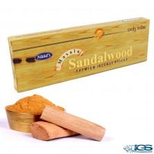 عود دست ساز چوب صندل هندی Sandalwood برند Nikhil