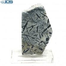 اسلایس سنگ ائوژیرین Aegirine (تورمالین کوارتز)