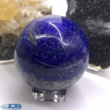 گوی درمانی سنگ لاجورد افغانستان Lapis lazuli
