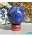 گوی ماساژ درمانی و دکوری سنگ لاجورد افغانستان Lapis lazuli