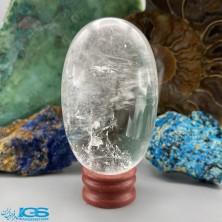 سنگ کریستال کوارتز تراش تخم مرغ هندی Crystal Quartz