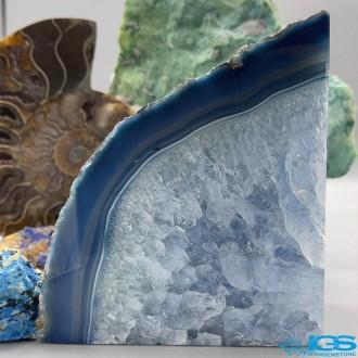 اسلایس راف عقیق آبی برزیل Agate