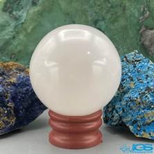 گوی درمانی و ماساژ سنگ رزکوارتز rose quartz