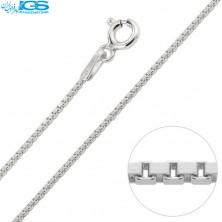 گردنبند زنجیر نقره مدل ونیزی 925 ایتالیا