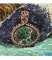 گردنبند سنگ آزوریت کلکسیونی تکه ایی از بهشت Azurite