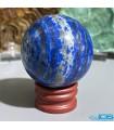 گوی سنگ لاجورد ماساژ درمانی و دکوری افغانستان Lapis lazuli