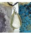 گردنبند سنگ روتیل طلایی کوارتز روتایل rutile quartz