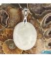 گردنبند مون استون ( حجرالقمر یا سنگ ماه ) Moonstone