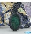 گردنبند سنگ مالاکیت مکرومه بافی ماداگاسکار Malachite مرمر سبز