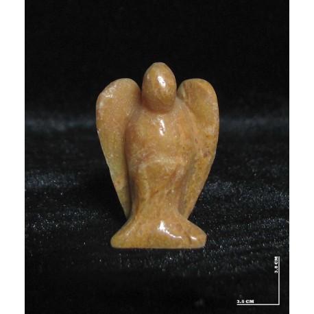 مجسمه فرشته جاسپر زرد