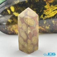 سنگ جاسپر ستاره منشور درمانی starburst Jasper