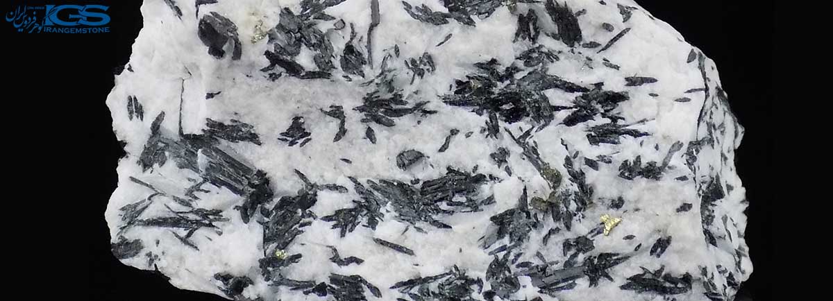 گردنبند سنگ ائوژیرین Aegirine اسلایس (تورمالین کوارتز)